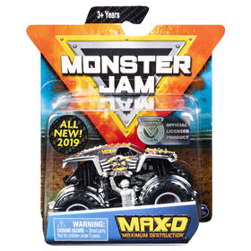 Monster Jam, Official Max D Monster Truck, Legacy Truck Series, 1:64 Scale