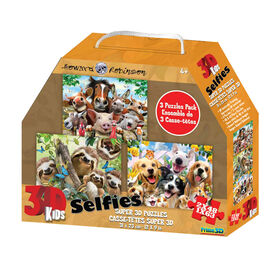 Howard Robinson - Animal Selfies 48-63 pieces - 3D Puzzles