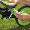 My First Balance-to-Pedal Training Bike 12 inch - Green - R Exclusive
