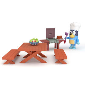 Bluey Mini Playset- Backyard BBQ