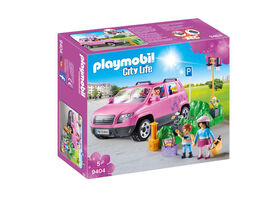 Playmobil - Family Car with Parking Space