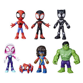 Marvel Spidey and His Amazing Friends Team Spidey and Friends Figure Collection - R Exclusive