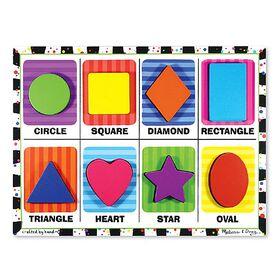 Melissa & Doug - Shapes Chunky Puzzle