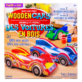 Made By Me - Wooden Cars