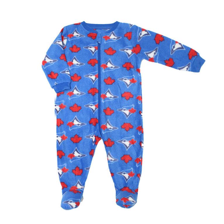 Snugabye Dormeuse Avec Pieds En Toison - Bleu, 9-12 Months