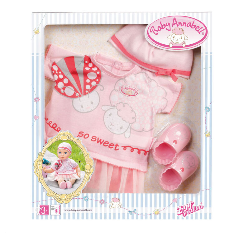 Baby Annabell Deluxe Set Summer Dream