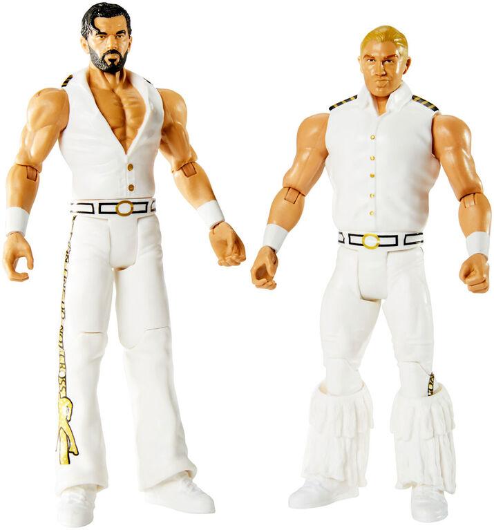 WWE - Coffret de 2 figurines - Tyler Breeze et Fandango.