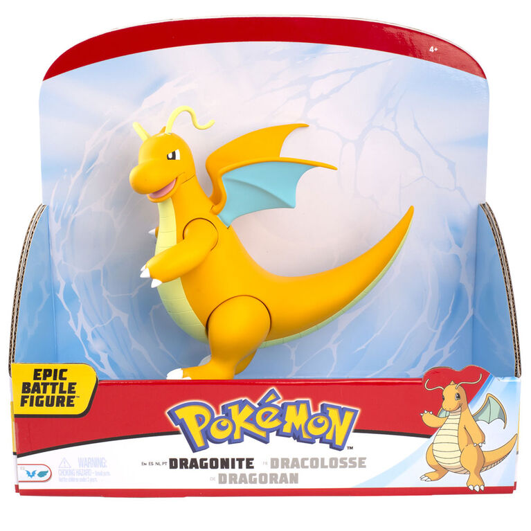 "Pokémon 12"" Epic Battle Figure - Dragonite"