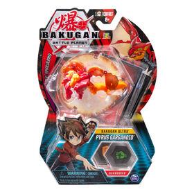 Bakugan Ultra Ball Pack, Pyrus Garganoid, 3-inch Tall Collectible Transforming Creature