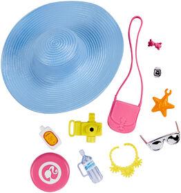 Barbie Coffret d'accessoires Tourisme au soleil.