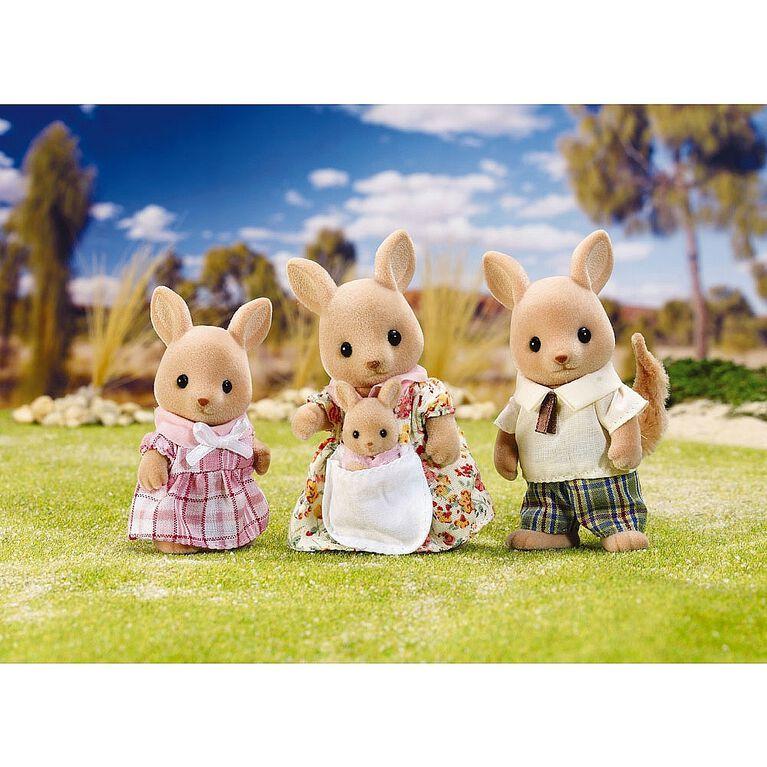 Calico Critters - La famille Hopper Kangaroo