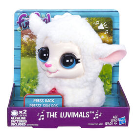 furReal The Luvimals Cottonball