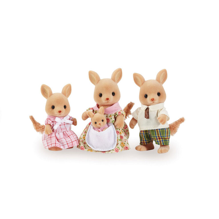Calico Critters Hopper Kangaroo Family - styles may vary
