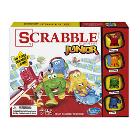 Hasbro Gaming Jeu Scrabble Junior - Édition anglaise