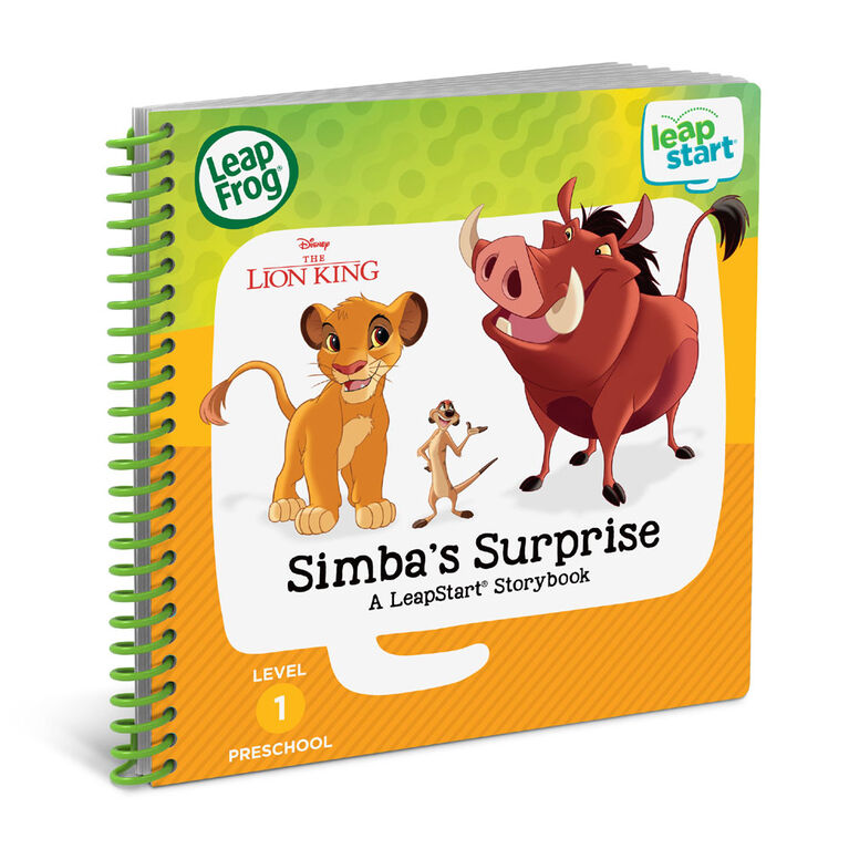 LeapFrog LeapStart The Lion King Simba's Surprise - English Edition