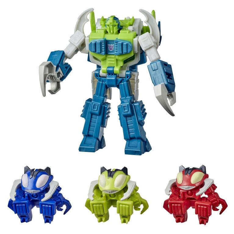 Transformers Bumblebee Cyberverse Adventures, 4 vilains Pesticons cybertroniens Repugnus Revanche - Notre exclusivité