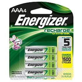 Paquet de 4 piles AAA Energizer Rechargeables