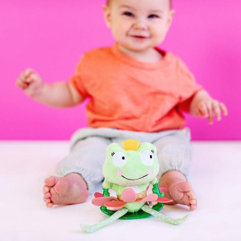 Bright Starts Swing & Chime Frog