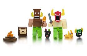 ROBLOX- Lot de 2 figurines - La monture des dieux.