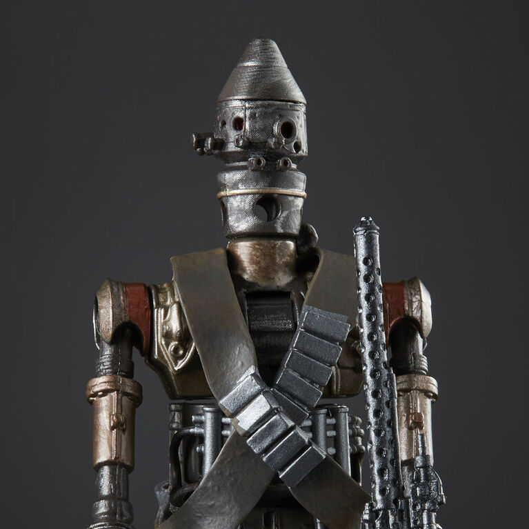 Star Wars The Black Series IG-11 Droid Toy 6-inch Scale The Mandalorian Collectible Action Figure - R Exclusive