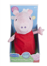 Peppa Pig - Hug and Oink Peppa Peluche - Édition anglaise