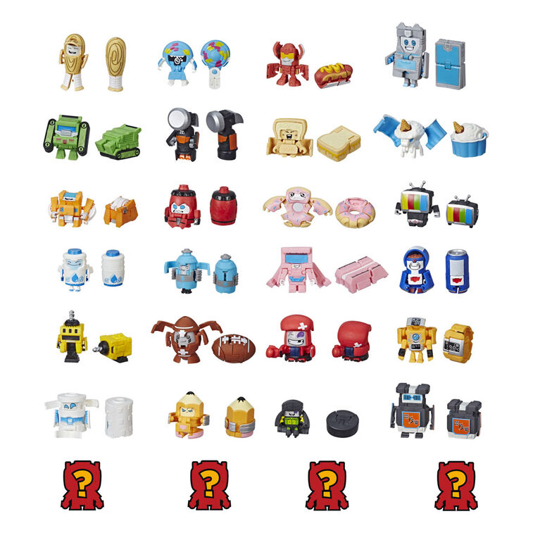 Transformers BotBots Toys Series 1 Jock Squad 8-Pack
