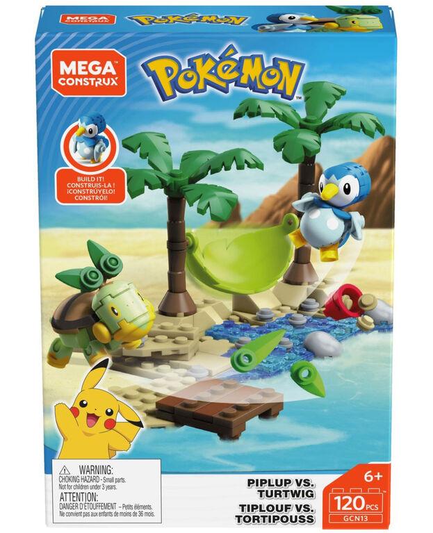 Mega Construx Pokémon Piplup Vs Turtwig