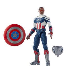 Hasbro Marvel Legends Series Avengers Action Figure Toy Captain America: Sam Wilson