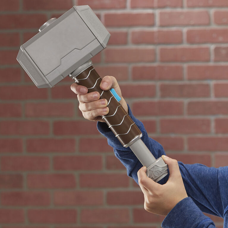 NERF Power Moves Marvel Avengers marteau de Thor Coup de marteau