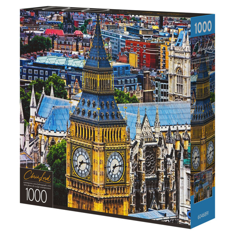 1000-Piece Jigsaw Puzzle with Photography Art by Chris Lord