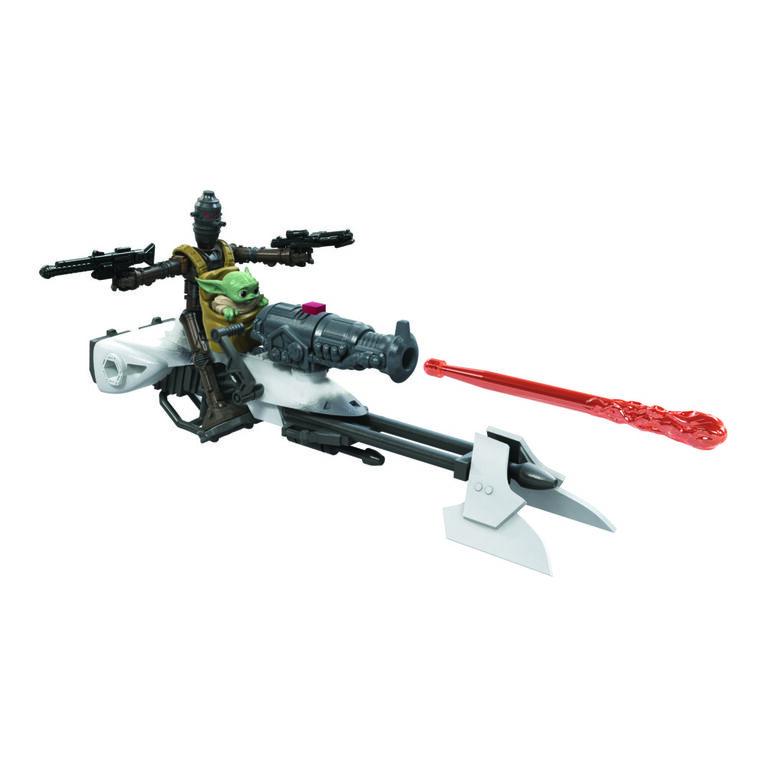 Star Wars Mission Fleet Expedition Class, IG-11, moto speeder, Protéger l'objectif, figurines