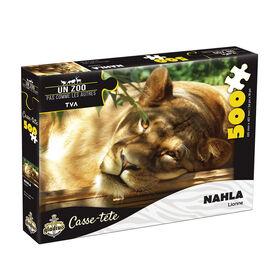 Puzzle Un zoo pas comme les autres - Nahla - 500 pcs - French Edition