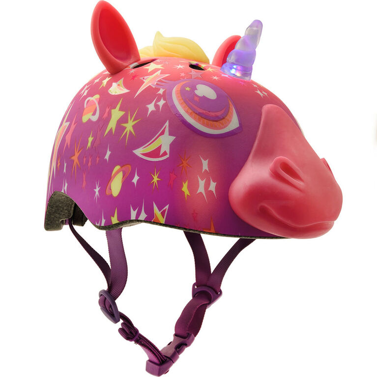 Raskullz - Child Super Lazer LED Multisport Helmet - Pink