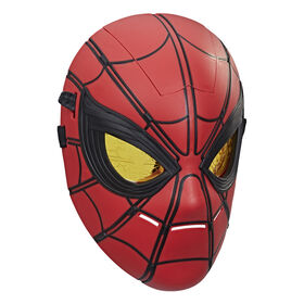 Marvel Spider-Man Glow FX Mask Electronic Wearable Toy With Light-Up Moving Eyes For Role Play