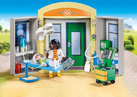 Playmobil - Hospital Play Box (9110)