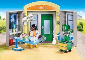 Playmobil - Hospital Play Box (9110)