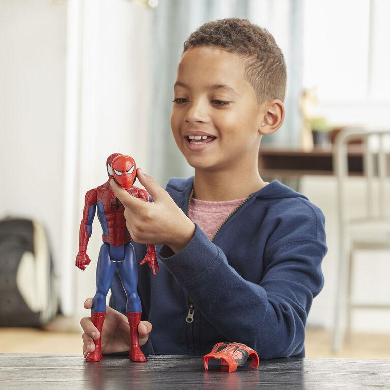Marvel Spider-Man Titan Hero Series Blast Gear Spider-Man Action Figure