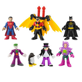 Imaginext DC Super Friends Deluxe Figure Pack - English Edition