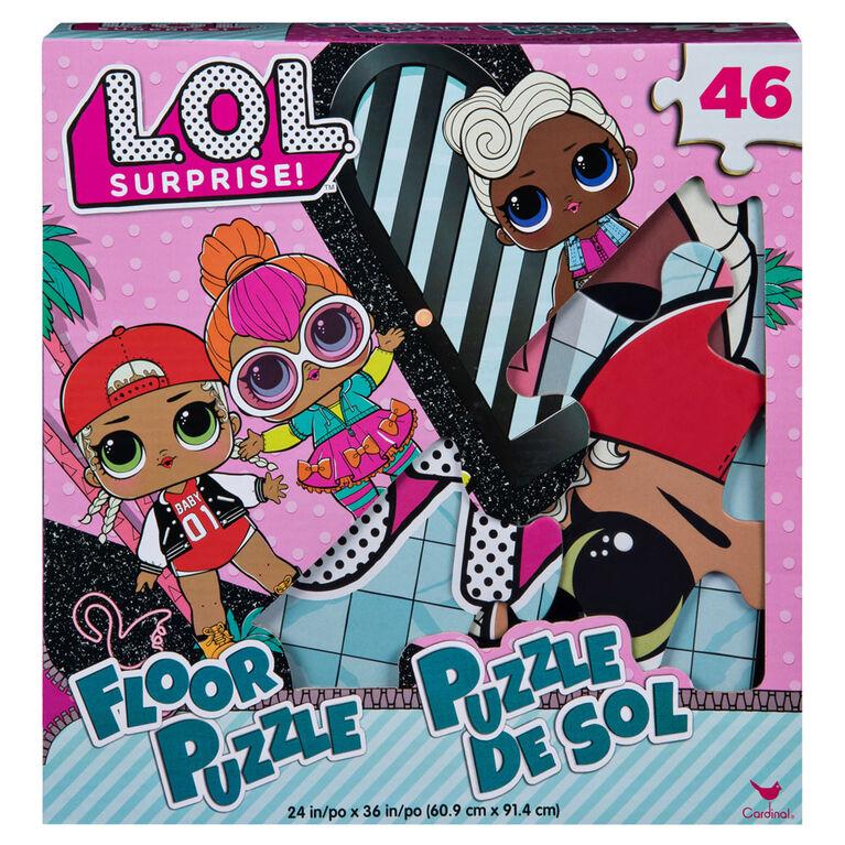 L.O.L. Surprise! 46-Piece Floor Puzzle