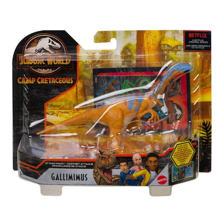 Jurassic World - Coffret Attaque - Gallimimus