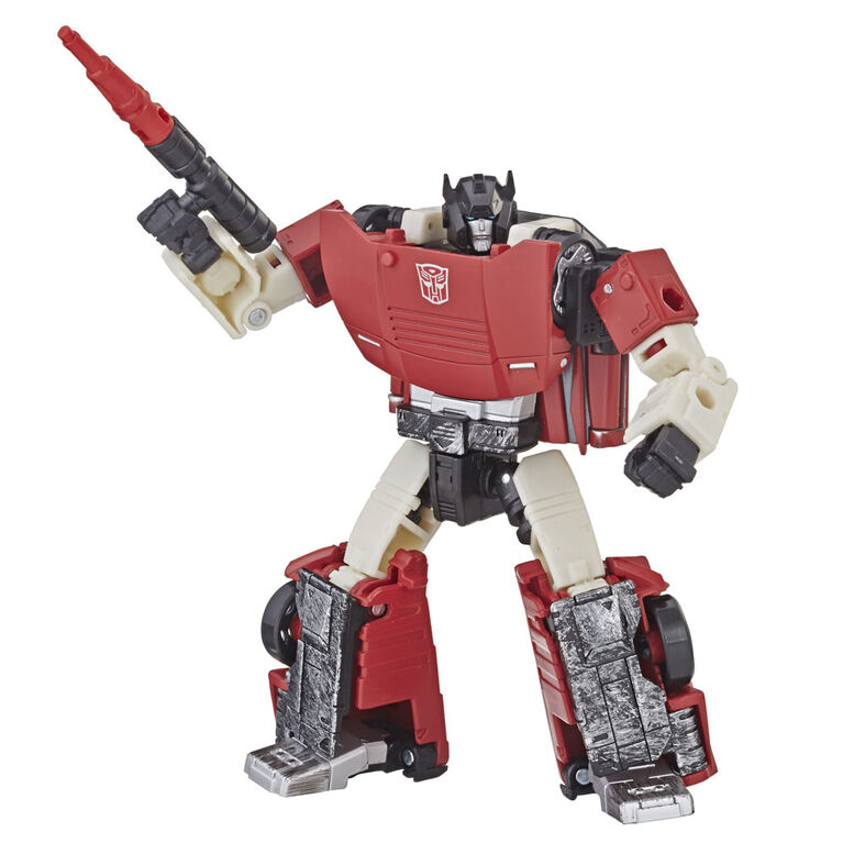 Hasbro Transformers Generations War for Cybertron: Siege Deluxe Class Sideswipe Action Figure