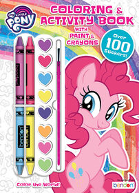My Little Pony Colour & Activity Book with Paints & Crayons - English Edition