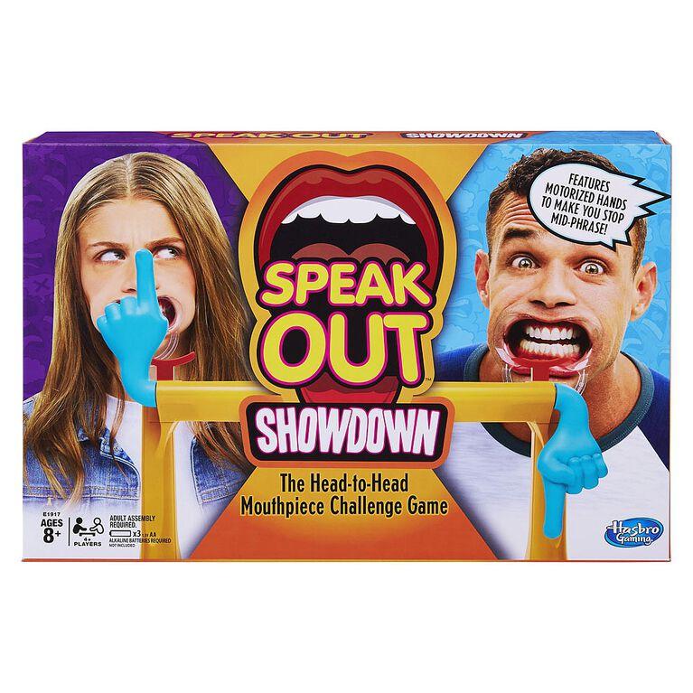 Hasbro Gaming - Speak Out Showdown