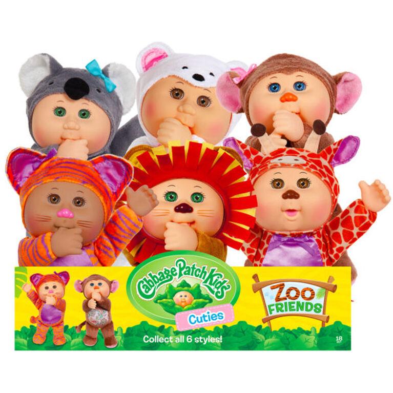 Cabbage Patch Kids Sydney Monkey Zoo Cutie