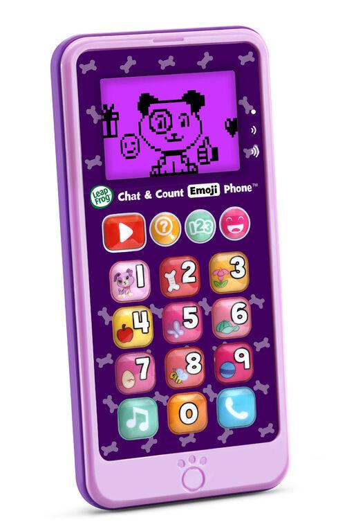 LeapFrog Chat & Count Emoji Phone - Purple - English Edition