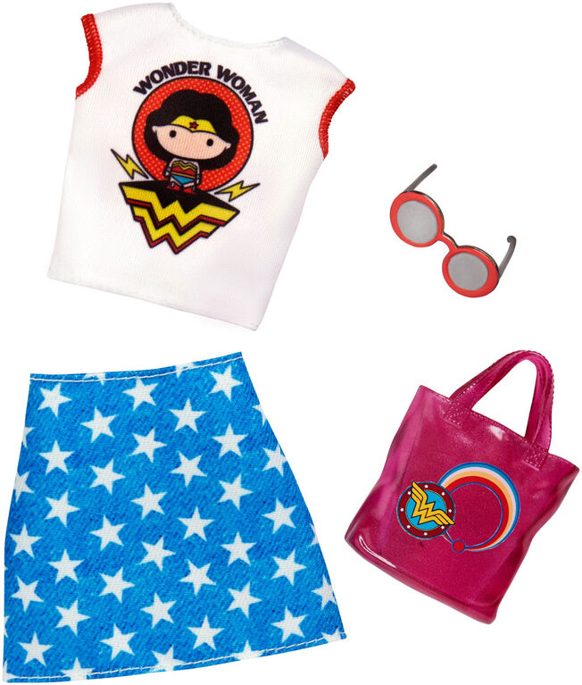 Barbie Wonder Woman Skirt & Top Fashion Pack