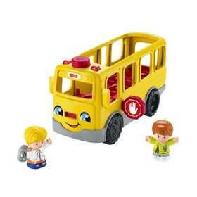 Fisher-Price Little People Sit with Me School Bus - Bilingual Edition