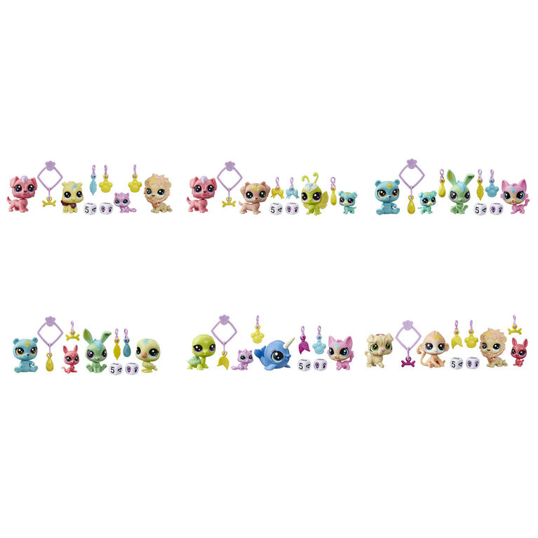 Littlest Pet Shop Lucky Pets, animal surprise de l'Escouade chanceuse