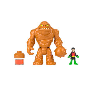 Fisher-Price Imaginext DC Super Friends Oozing Clayface & Robin