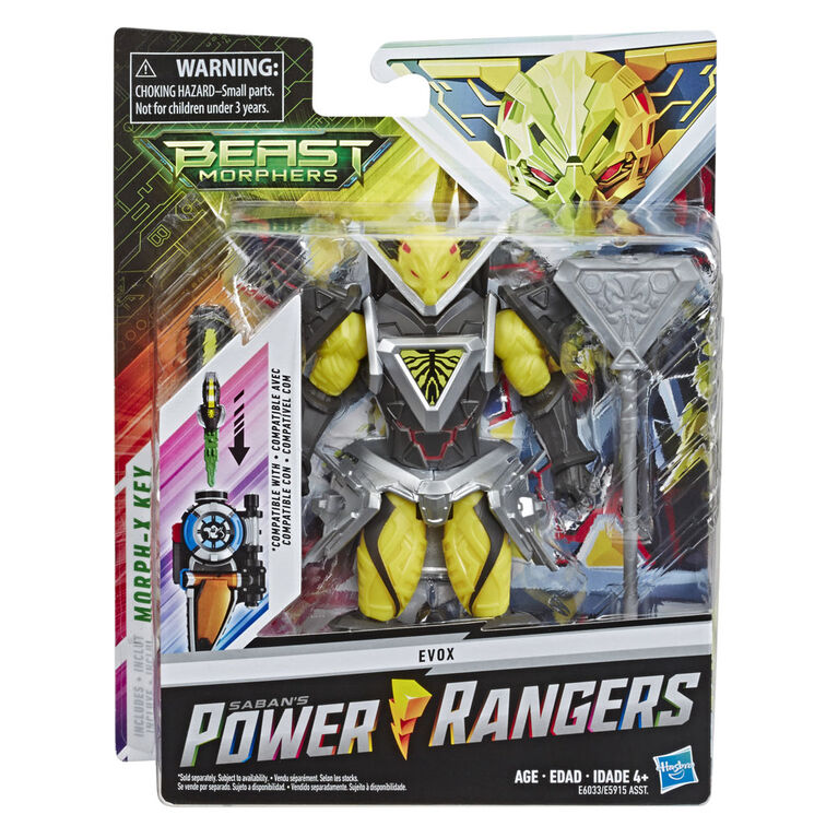 Power Rangers Beast Morphers Evox